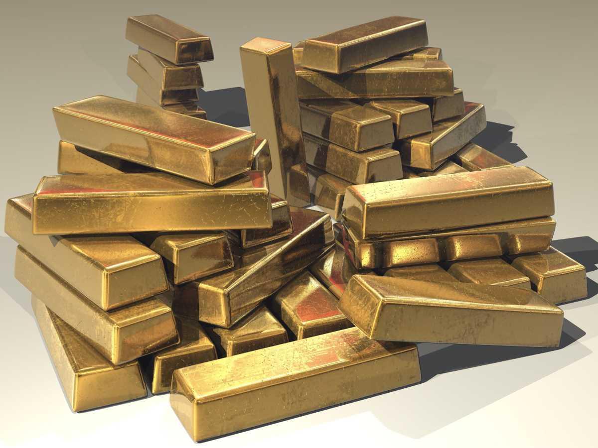 Gold im Schrank