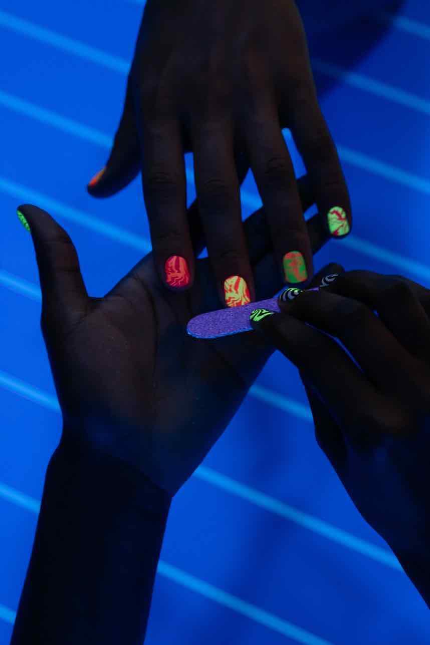 Die geschnittenen Nägel