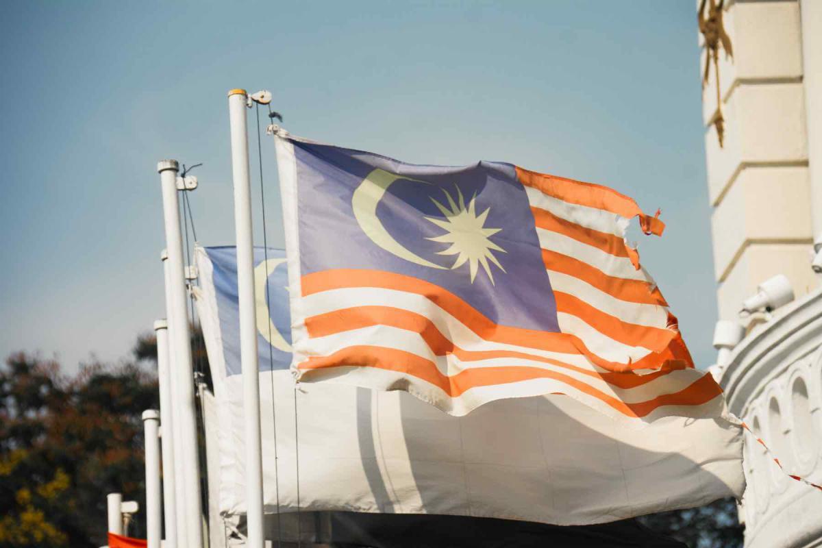 Buddhismus und die Fahne