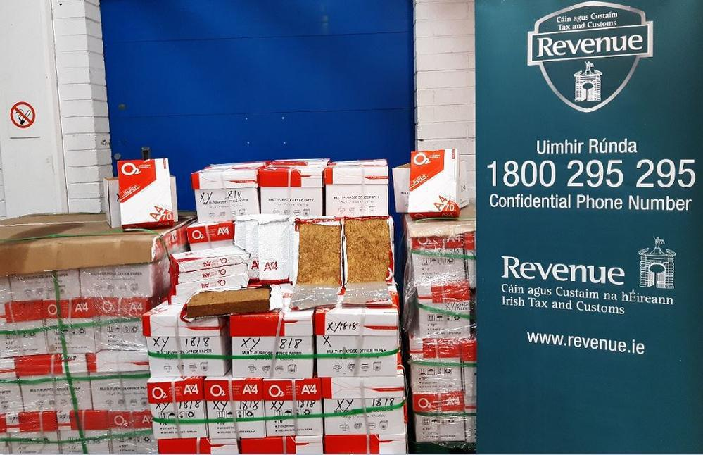Revenue seize tobacco worth over €1.24 million at Dublin Port