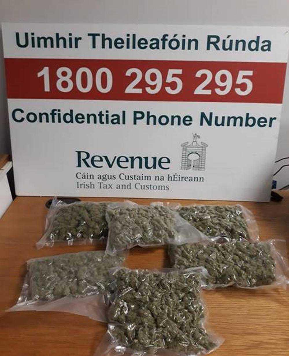 Drugs worth €22,000 concealed in crisp bags seized at Shannon airport