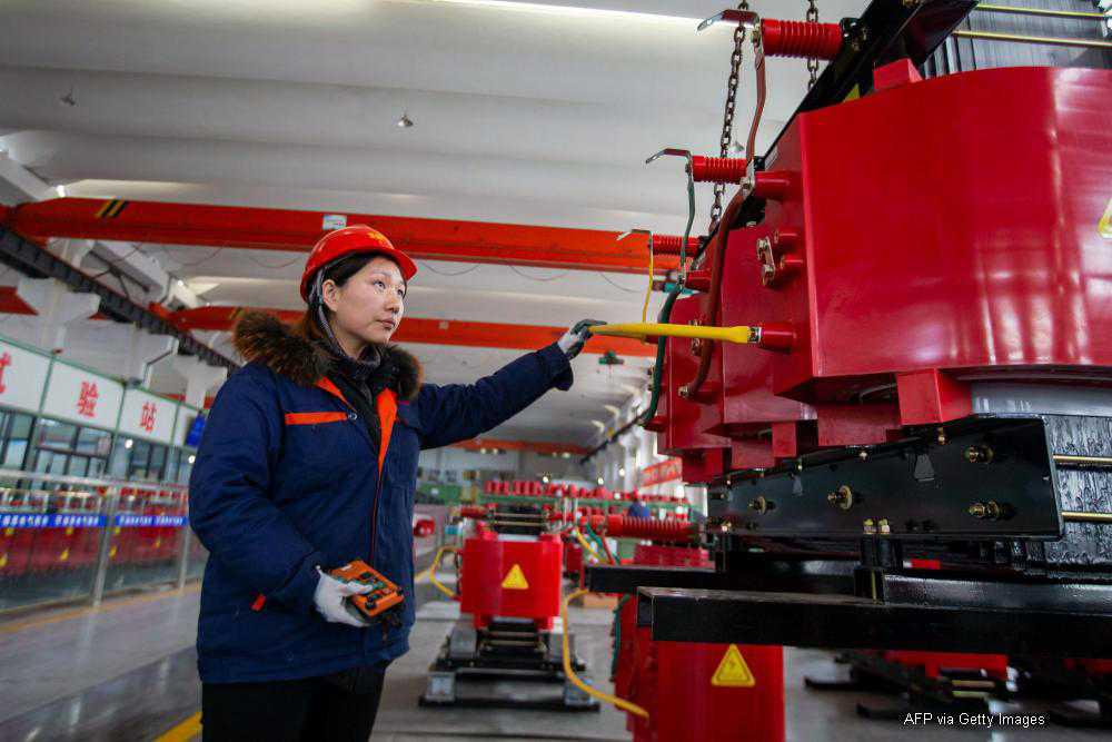 Chinese economy expanding at faster rate than before Covid-19 virus