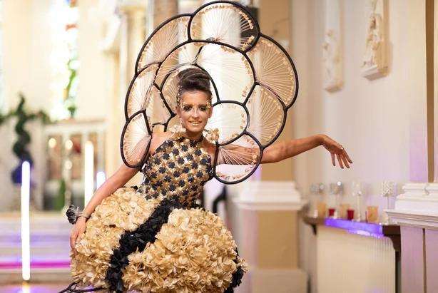 Milking it: Donegal students win Junk Kouture competition with quirky dress design