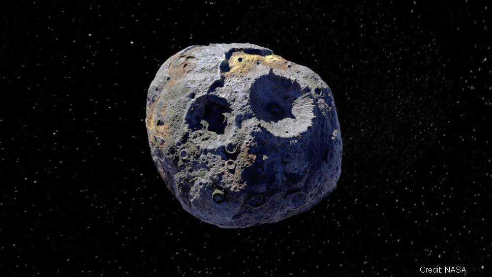 See the asteroid worth THOUSANDS of times more than the world's economy