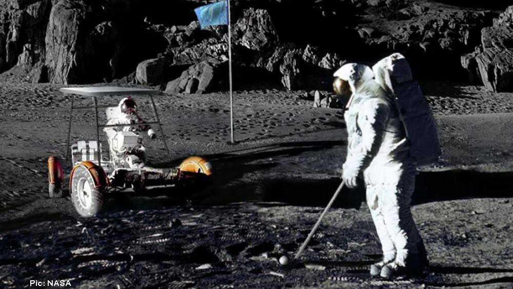 Who's keeping score? NASA gets new look at the golf balls on the Moon