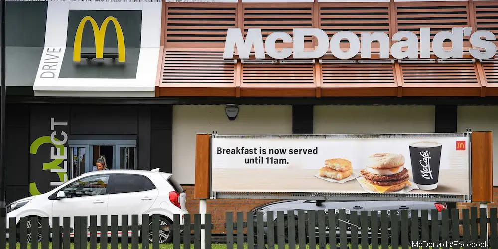 McDonald's to resume walk-in takeaway services in some areas