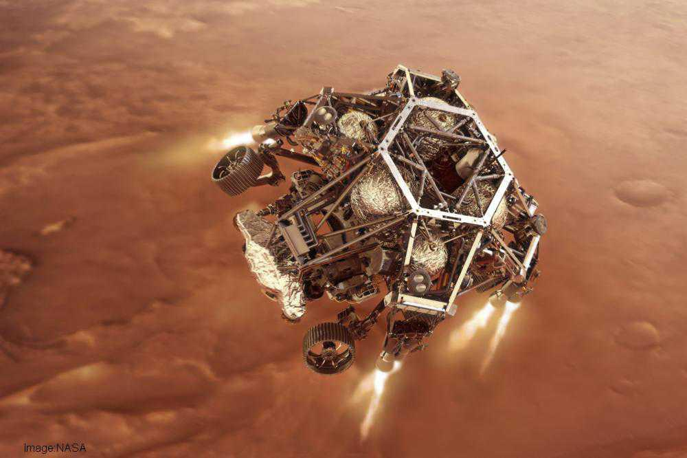 'Red' Rover finds its forever home: NASA's Perseverance touches down on Mars