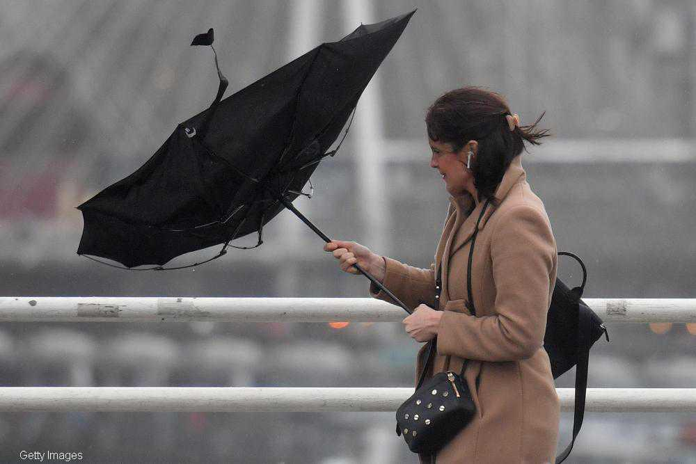 Met Éireann issues warning for heavy rain and strong winds