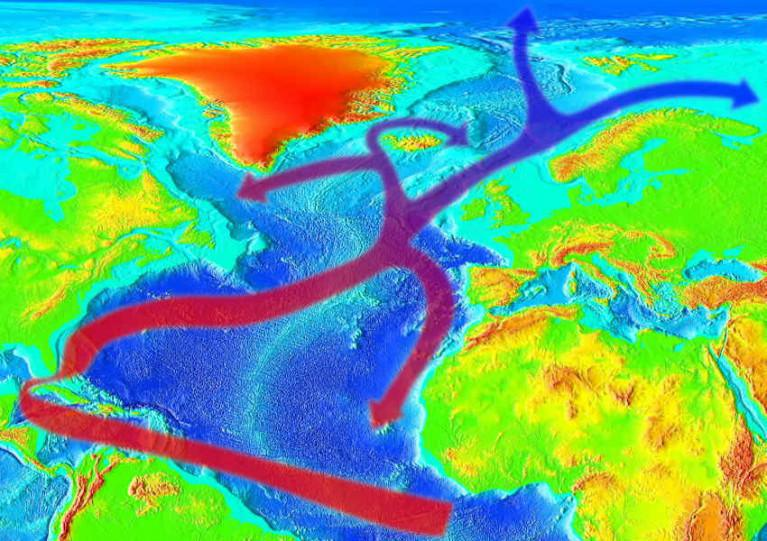 The Gulf Stream is dramatically slowing down due to climate change, study suggests