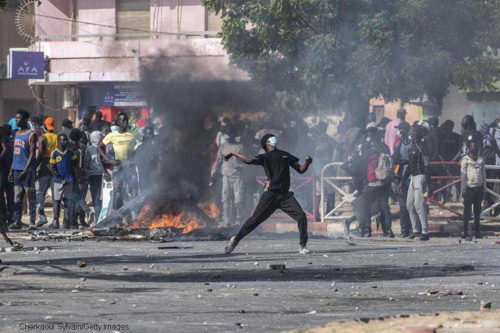 Civil unrest runs rife in Senegal following trial of opposition leader
