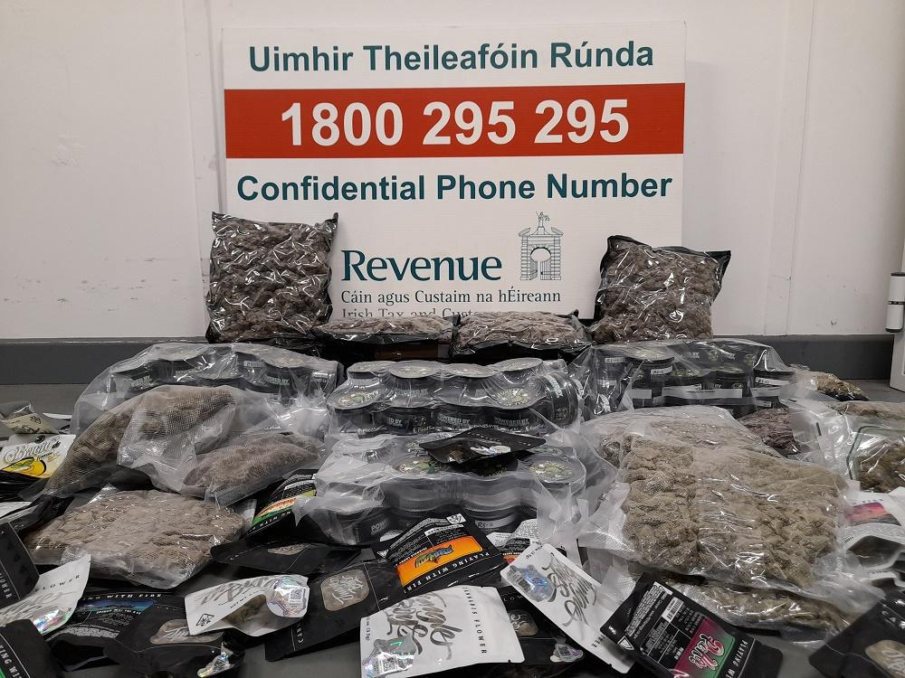 €108,000 drugs found in 21 parcels at Dublin mail centre