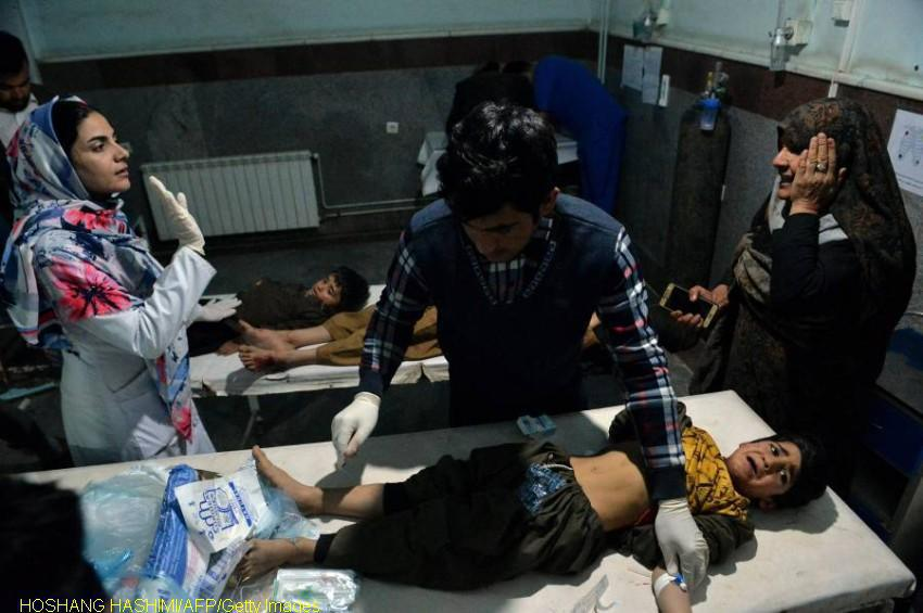 22 dead and dozens injured in Afghan bombings and raids