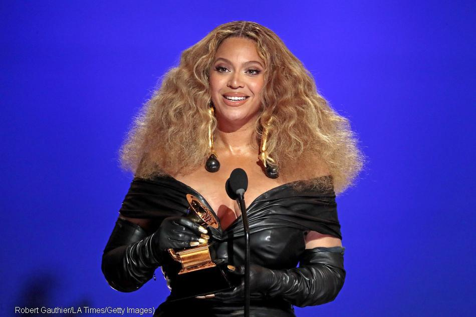 Beyonce leads the list of winners of Grammy awards