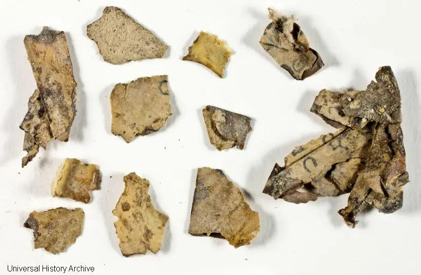 Discovery of new Dead Sea Scroll fragments in Israel