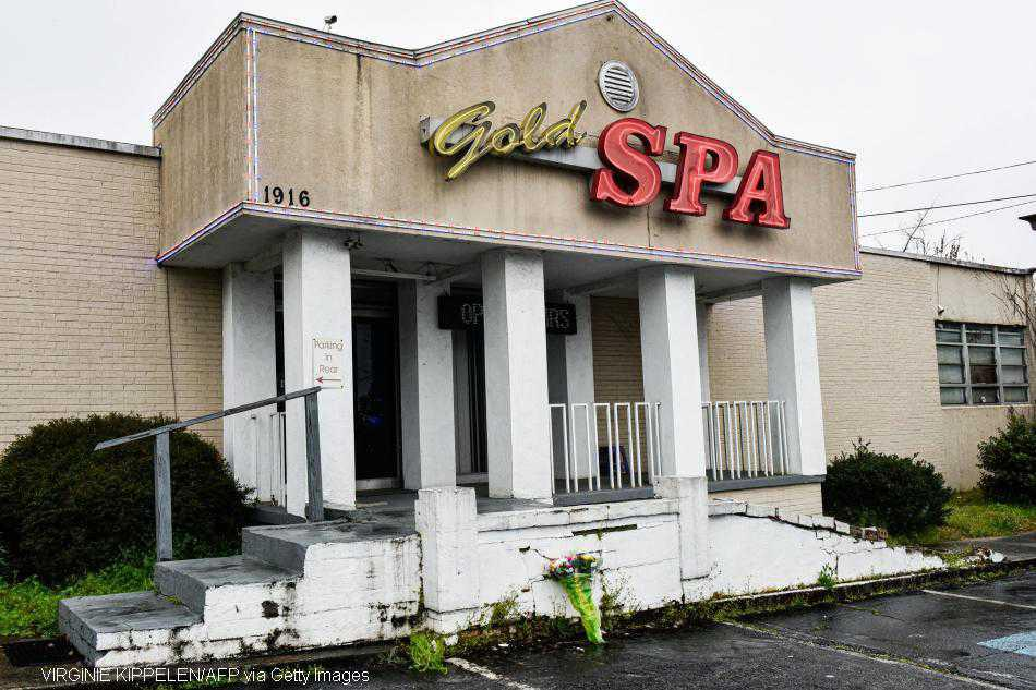 Man charged with eight murders at Atlanta massage parlours