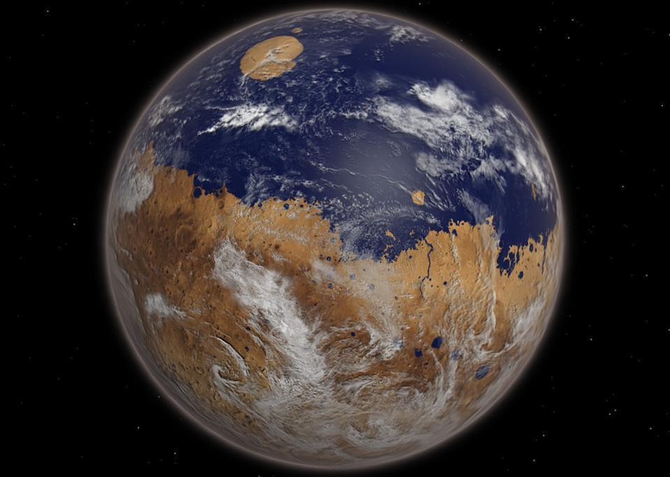 Hidden in plain sight? Most of Mars' missing water may have actually never left, scientists now believe