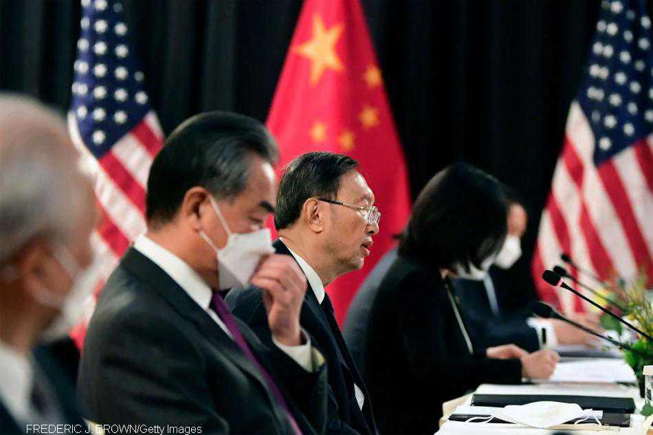 US and China talks off to contentious start in Alaska