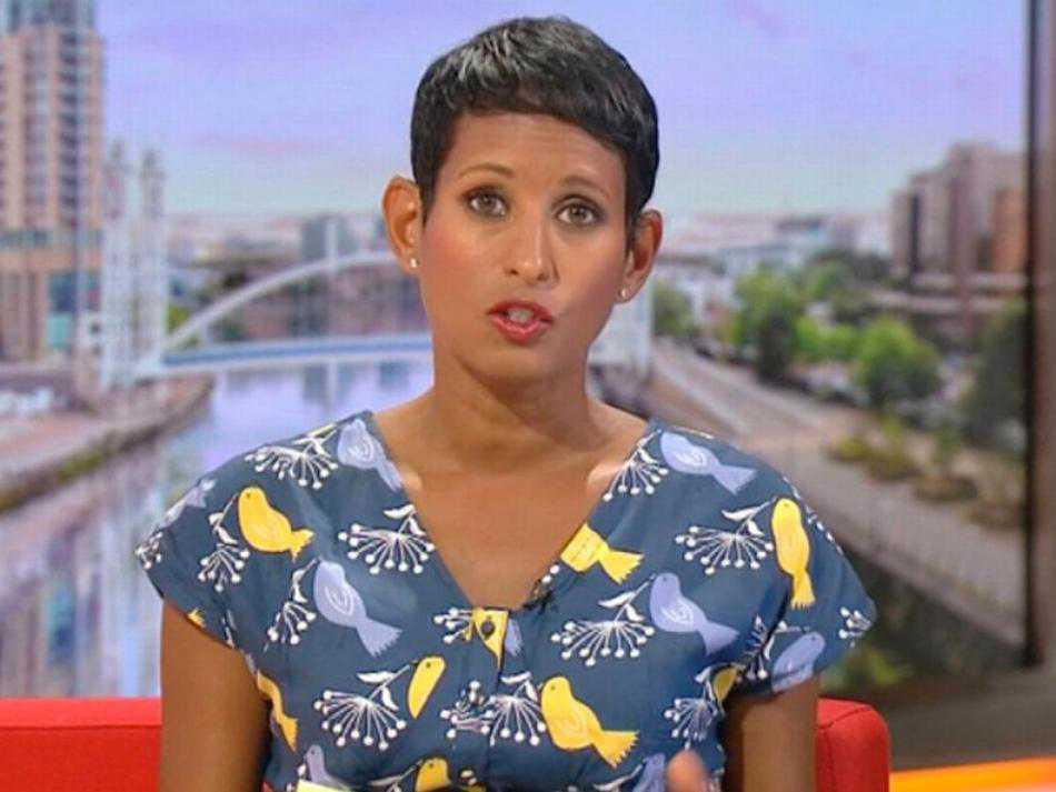 BBC Presenter forced to apologise after mocking British flag