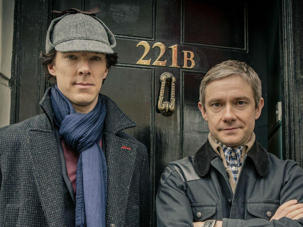 'I think it is possible': Martin Freeman thinks Sherlock film might be a good way to close off the beloved series