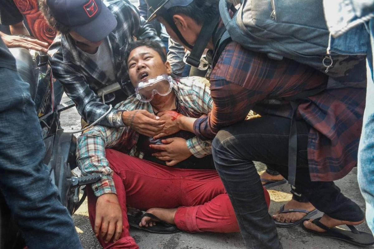 Myanmar security forces kill over 100 protesters