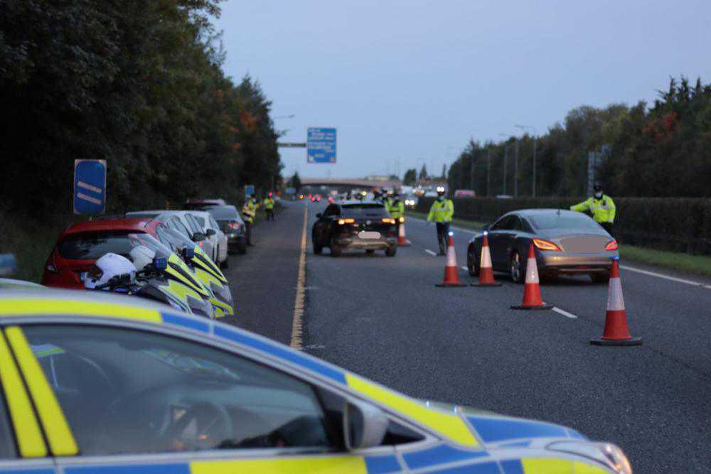 Gardaí recommence motorway checkpoints