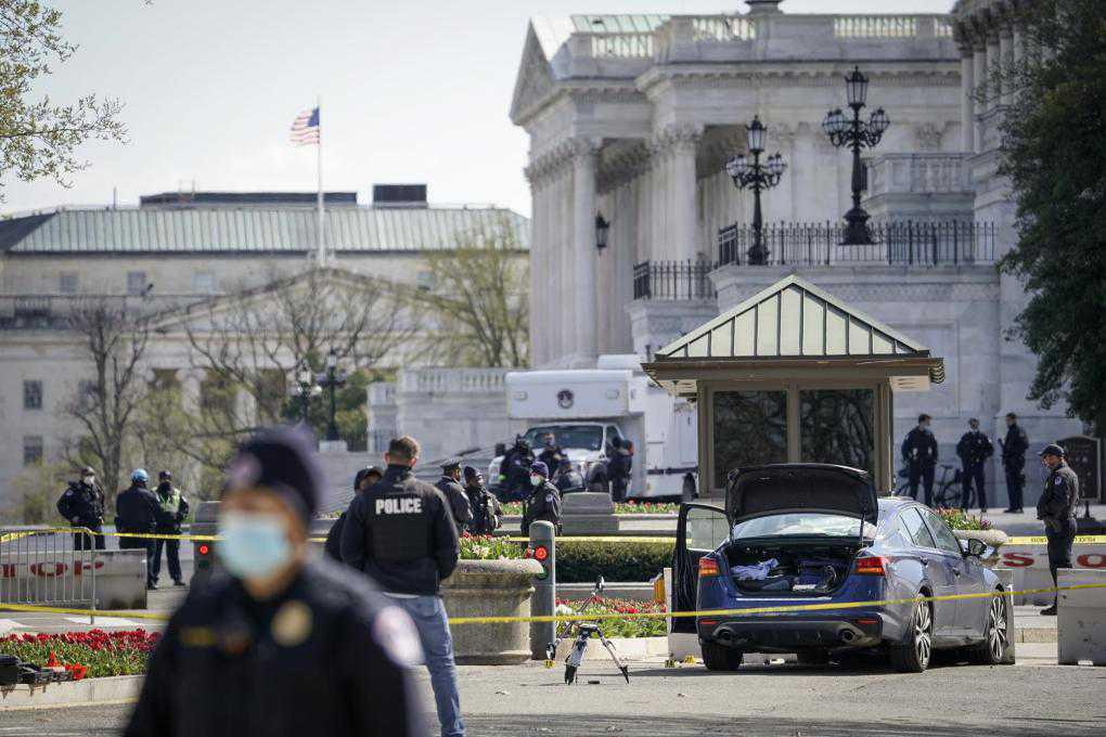 Police officer killed in attack at US Capitol