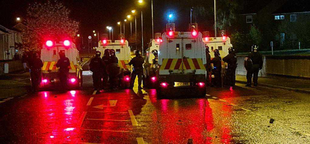 PSNI say 'sinister elements' involved in riots
