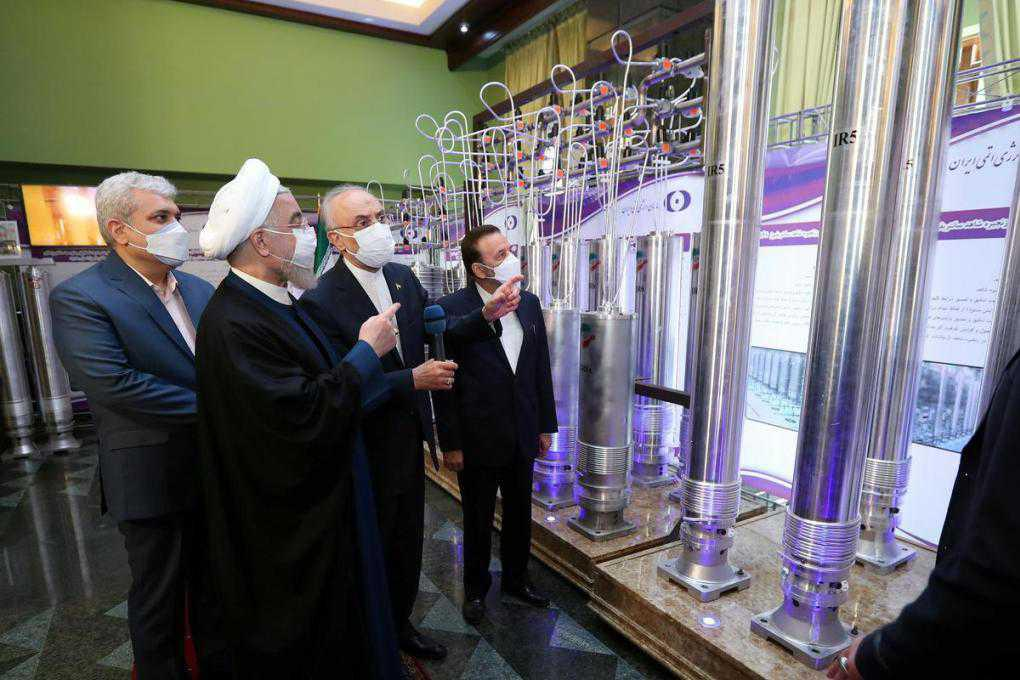 Iran starts up nuclear centrifuges in breach of agreement