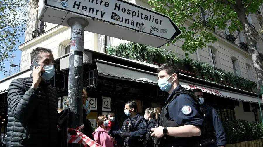 Shooting outside Paris hospital leaves at least one dead