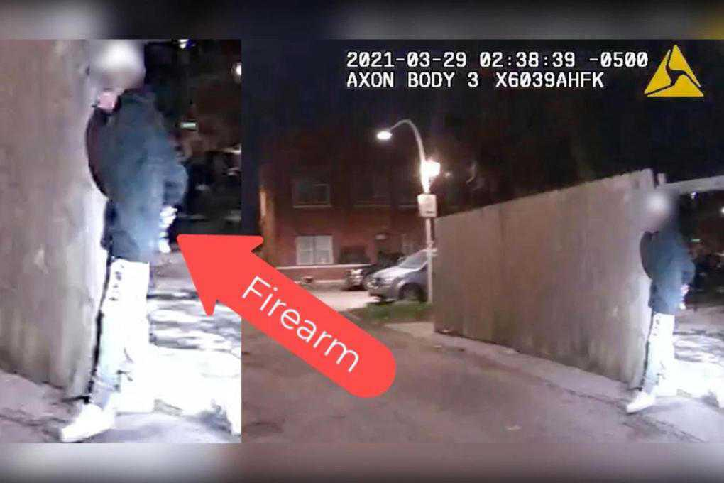 Police in Chicago release new video showing slain 13-year-old was armed