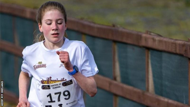 12-year-old Belfast girl sets new world record for 5km