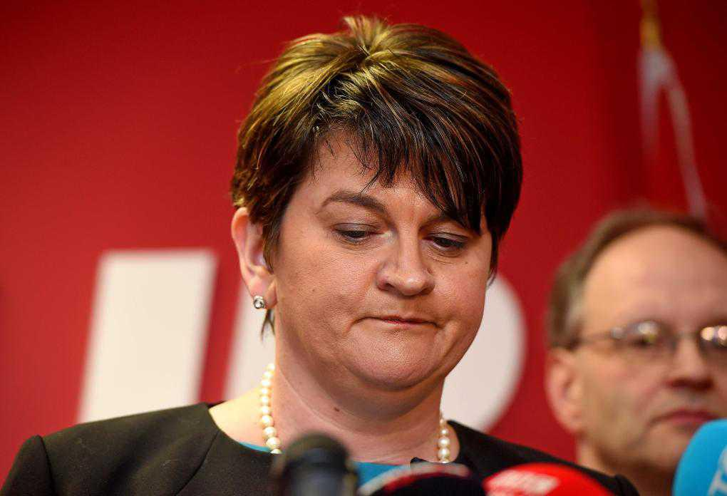Arlene Foster to step down as DUP leader and NI first minister