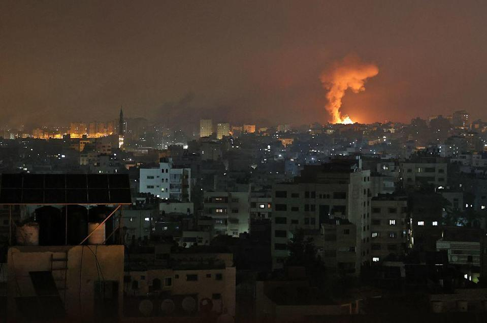 Israel intensifies operations against rocket attacks from Gaza
