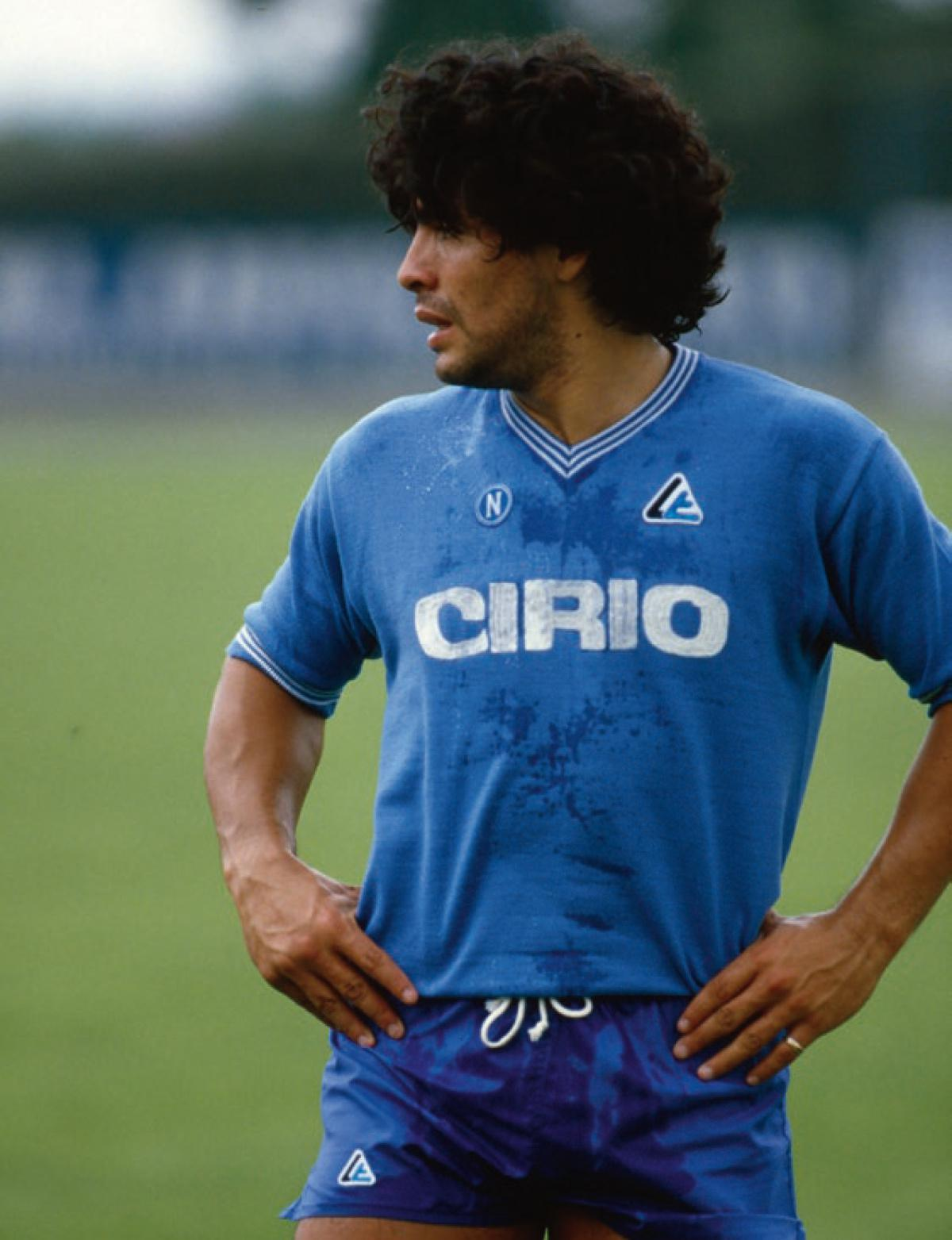 Scatti, Diego Armando Maradona