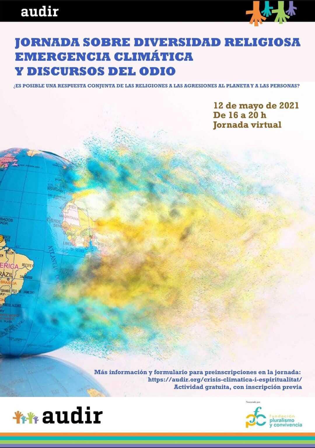 Jornada sobre diversidad religiosa, emergencia climática y discurso de odio