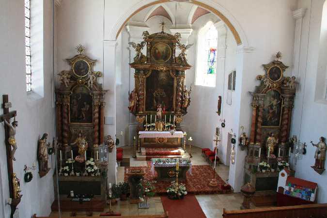 Attenkirchen, St. Johannes Baptist