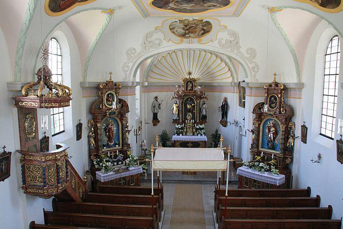 Oberhaindlfing, St. Jakobus der Ältere