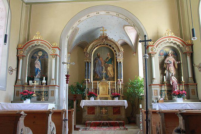Hirnkirchen, St. Petrus und Paulus