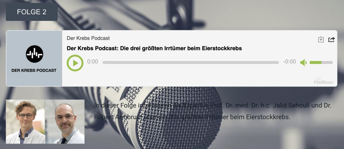 Der Krebs Podcast - Folge 2: Irrtümer beim Eierstockkrebs