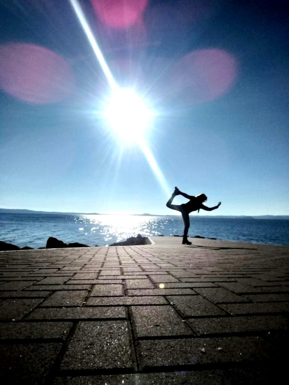 Sessioni di Yoga sul lago di Bolsena