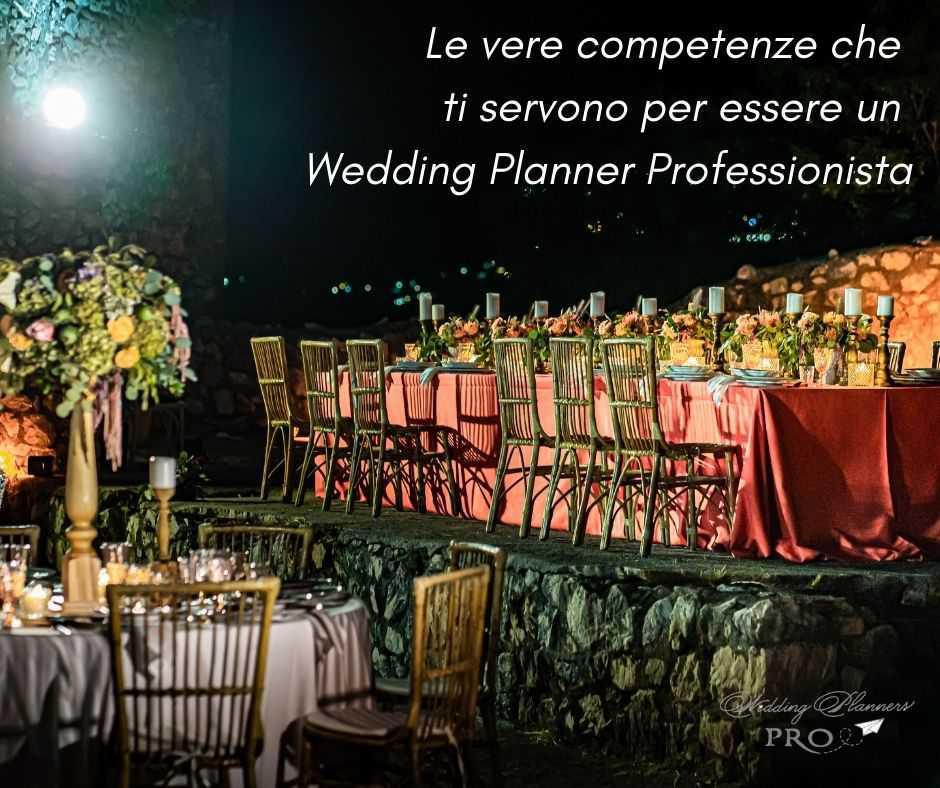 Le vere competenze che ti servono per diventare un Wedding Planner Professionista