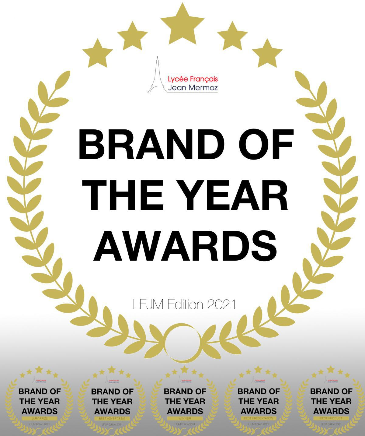 Brand of the Year Awards Edition 2021