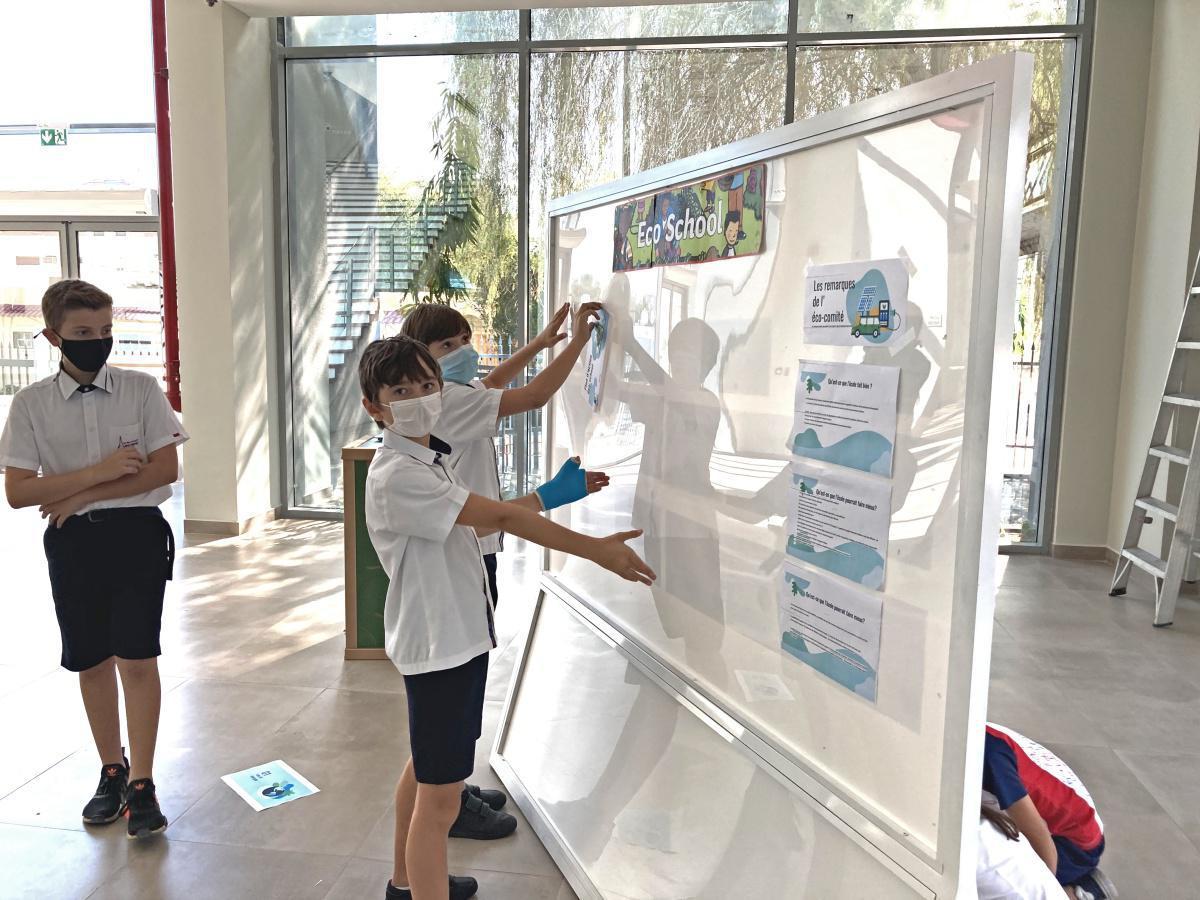 Eco-school: les premières actions