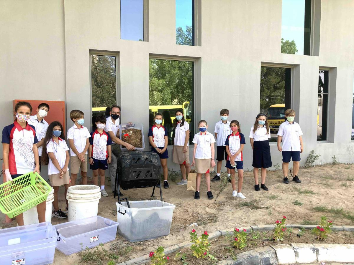 Eco-school : atelier compostage