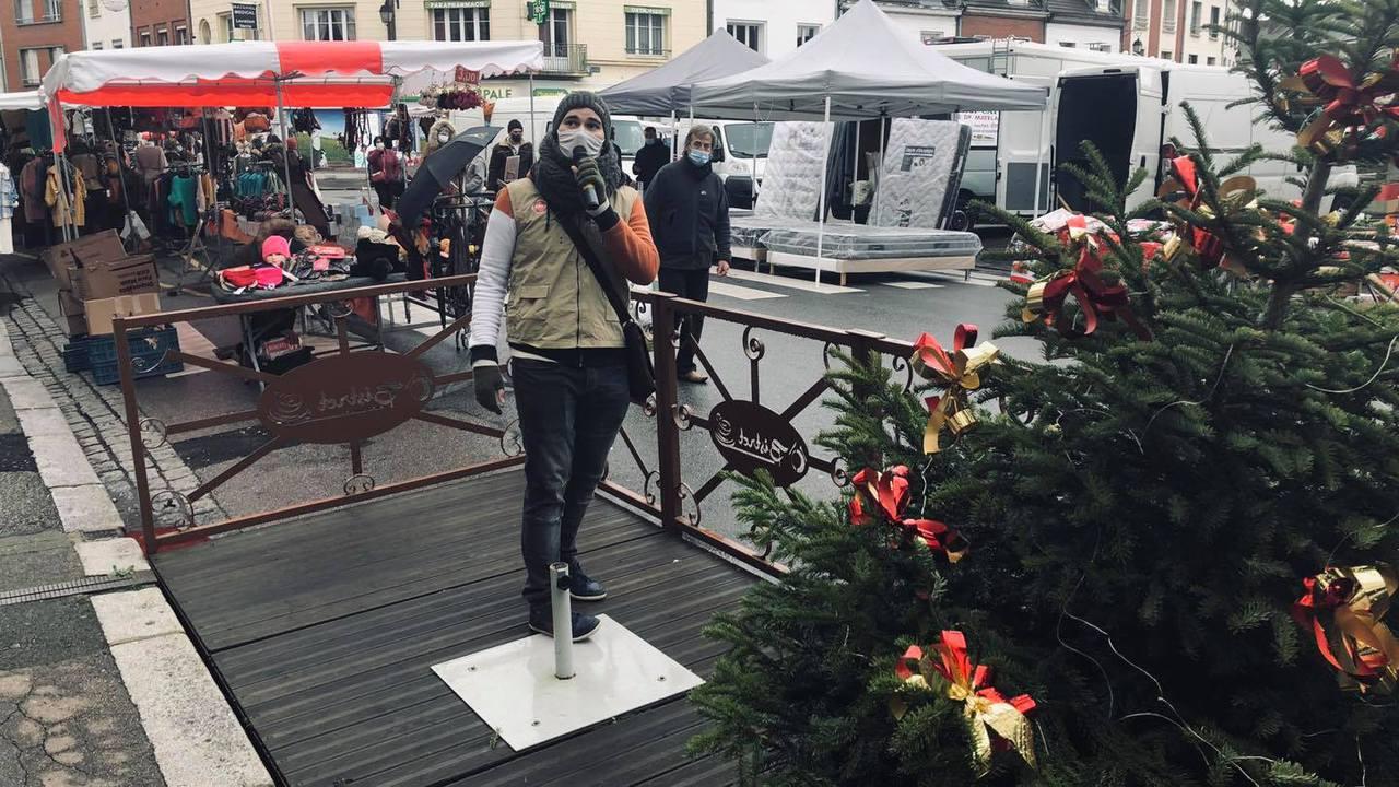 Animation de Noël sur le Marché de Gournay-En-Bray !