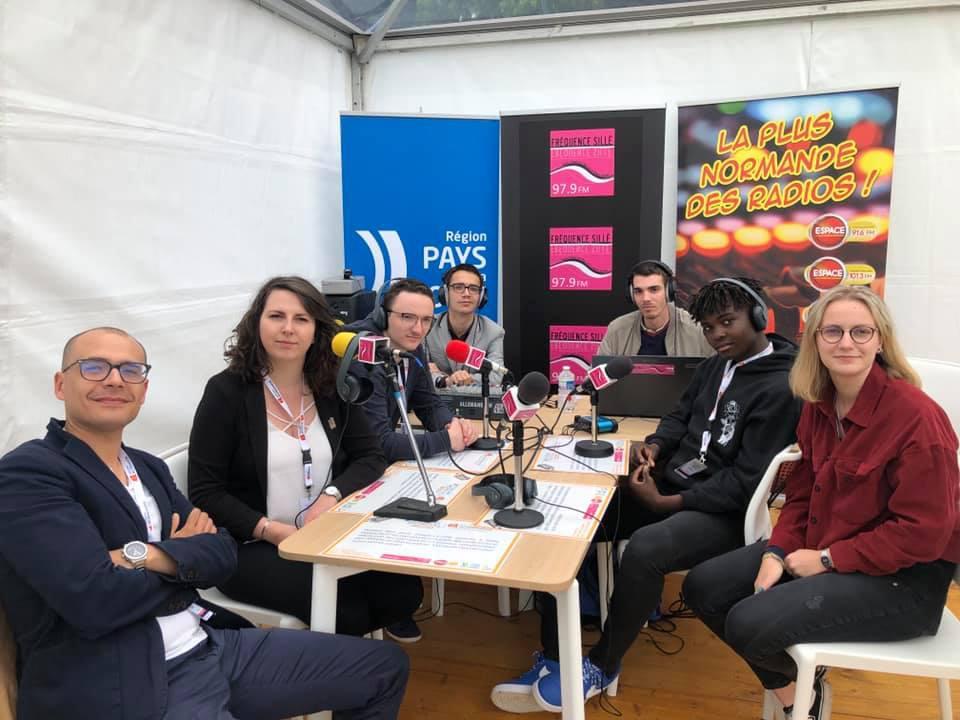 Forum de la Paix - Caen - Région Normandie