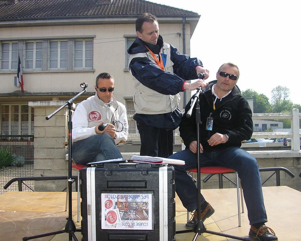 """Denis, Ludo & Pascal """"Live"""" Course de côte des Andelys"""