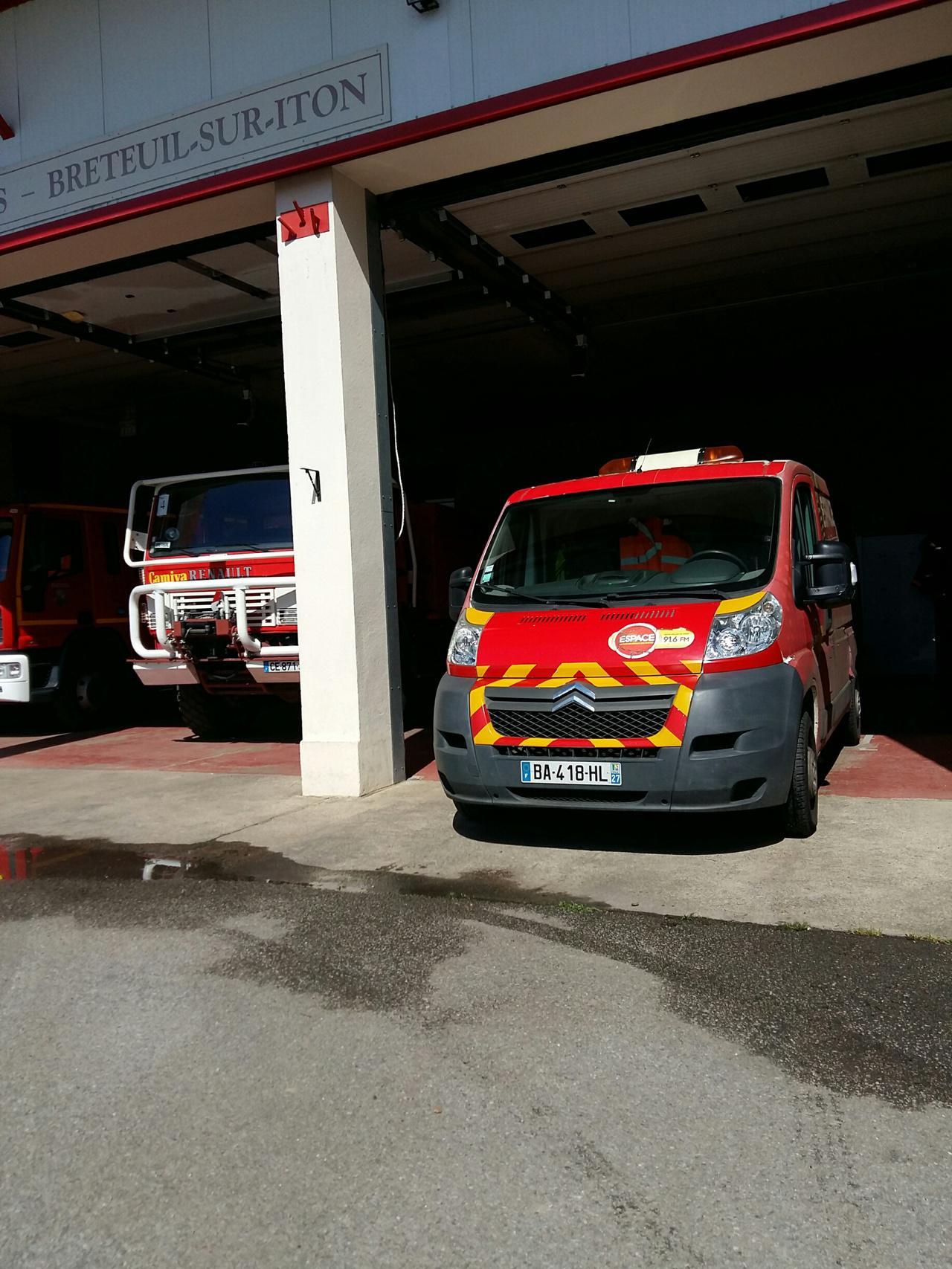 Espace chez les Sapeurs Pompiers