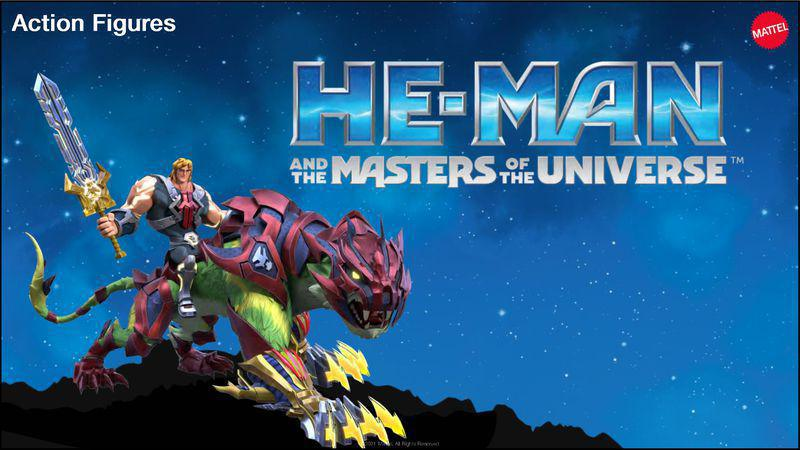 Así se verá He-Man en el reinicio de animación digital para niños que llegará a Netflix