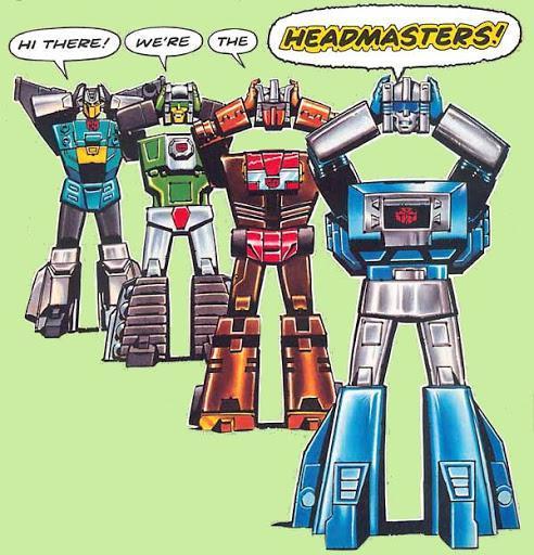 Transformers Head Masters con Raúl el Pelón!